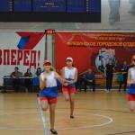Выступление Команды 10 школы города Серпухова на зональном этапе комплексной спартакиады среди школьных команд образовательных учреждений Московской области.