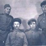Калинины Петр и Илья, апрель 1945, Венгрия